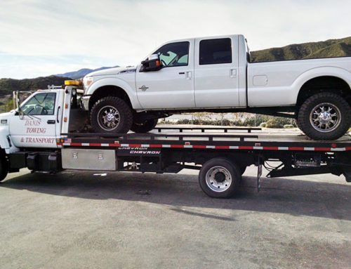 Cajon Pass Towing