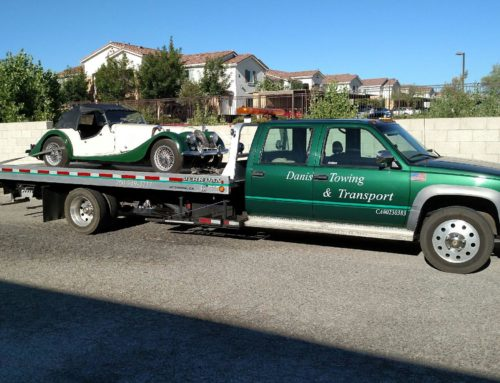 Specialized Antique Car Auto Transport in Southern California